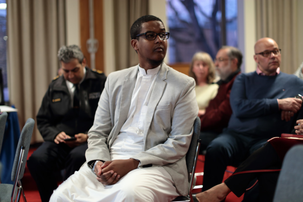 IMAM NUR SEEKS TO FOSTER A DIALOGUE AROUND CHALLENGES THE MUSLIM COMMUNITY FACES.